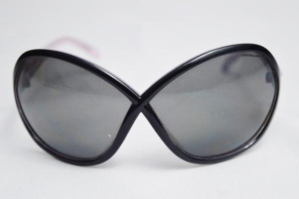 3b7ed0767 CHILLIBEANS - Óculos de sol de famosa grife modelo esporte fino armação na  cor .