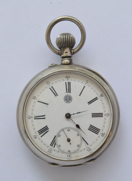 10f456bc22d RELÓGIO DE BOLSO CHARLES HUMBERT FILLS PARIS 1889