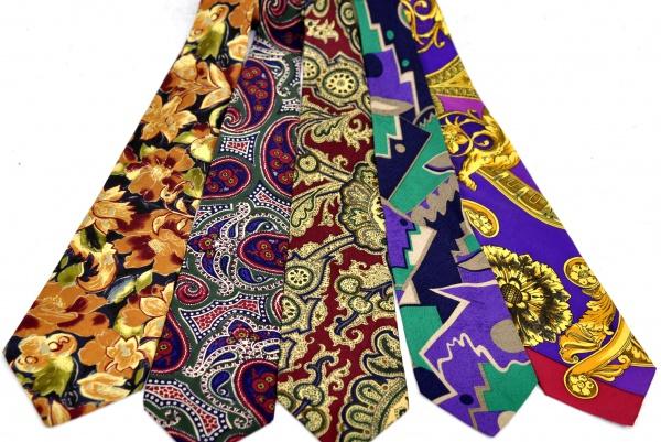 (5) Gravatas diversas - seda - das marcas