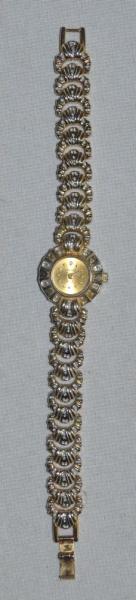 6132a6fa6f5 Relógio Cadina feminino 18k gold plated japan quartz
