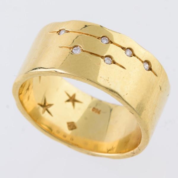 5bcf1a6e86f H.STERN - Anel de ouro amarelo 18 k