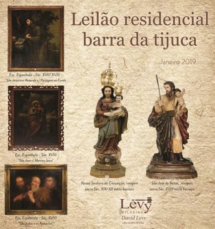 LEILÃO 1213 - LEILÃO RESIDENCIAL BARRA DA TIJUCA - JANEIRO 2019