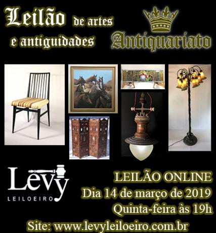 LEILÃO 1228 - 7º LEILÃO ANTIQUARIATO DE ARTES, ANTIGUIDADES E CURIOSIDADES