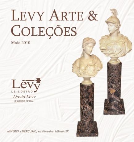 LEILÃO LEVY ARTE & COLEÇÕES - MAIO 2019