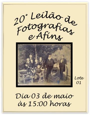 20 LEILÃO DE FOTOGRAFIAS E AFINS