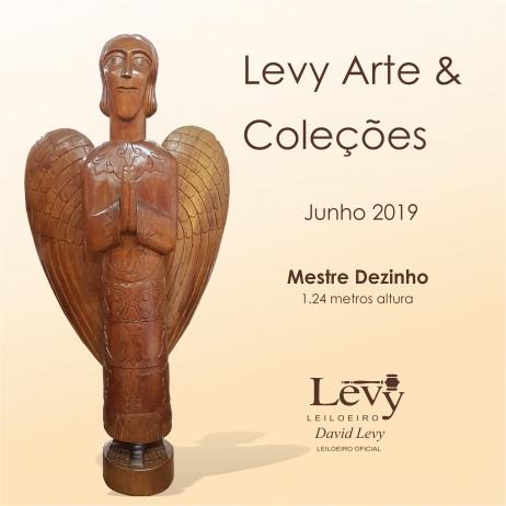 LEILÃO LEVY ARTE & COLEÇÕES - ACERVO PARTICULAR E OUTROS - JUNHO 2019