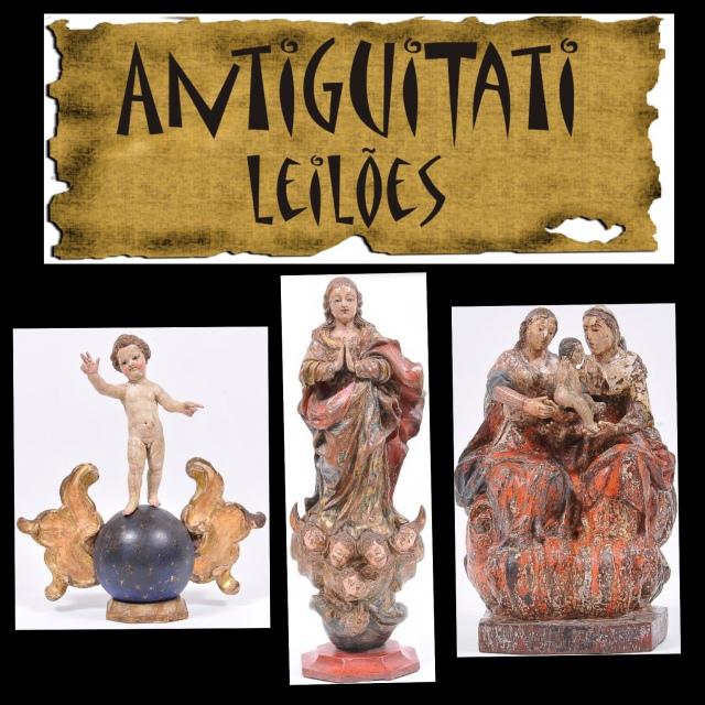 LEILÃO ANTIGUITATI - ARTES E ANTIGUIDADES - AGOSTO DE 2019