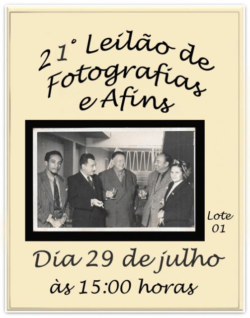 21 LEILÃO DE FOTOGRAFIAS E AFINS