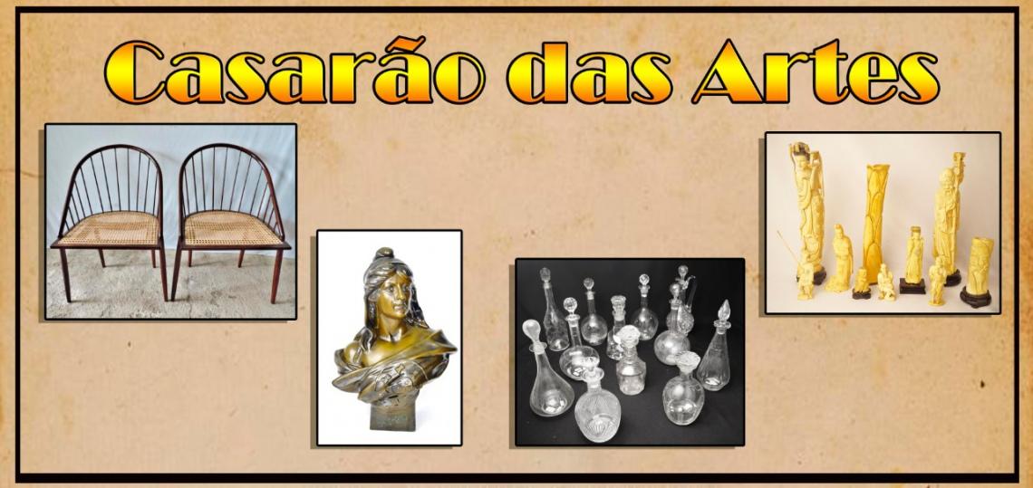 CASARÃO DAS ARTES - 42º LEILÃO DE ARTES E ANTIGUIDADES - TEL.: 21 31971076