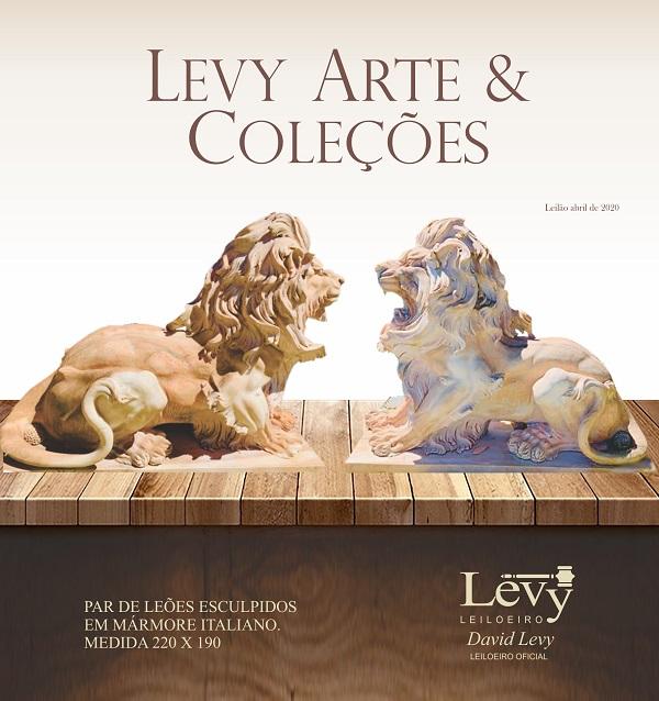 LEILÃO LEVY ARTE & COLEÇÕES - ABRIL 2020