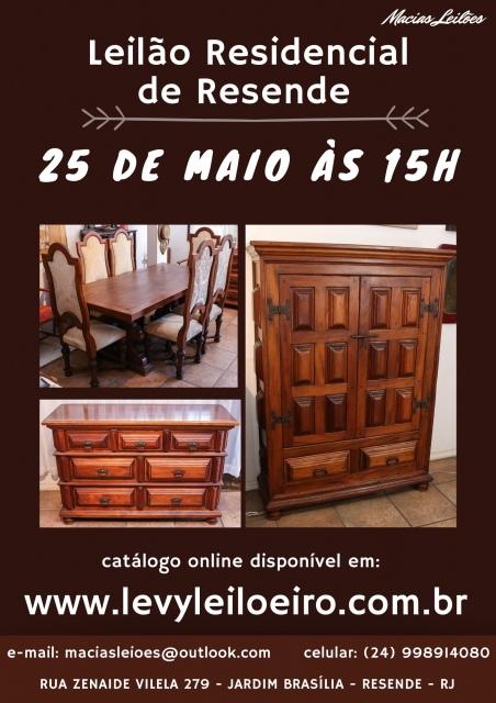 LEILÃO RESIDENCIAL DE RESENDE - RJ