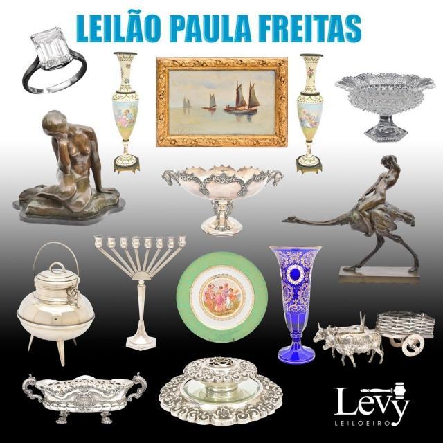 LEILÃO  PAULA FREITAS - ARTES E ANTIGUIDADES - JUNHO DE 2021