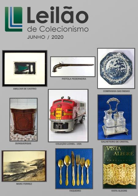 Leilão de Colecionismo - JUNHO de 2020