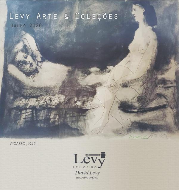 LEILÃO LEVY ARTE & COLEÇÕES - JULHO 2020