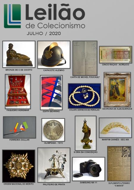 Leilão de Colecionismo - Julho de 2020