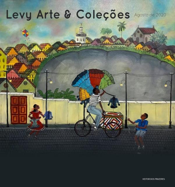 LEILÃO LEVY ARTE & COLEÇÕES - AGOSTO 2020