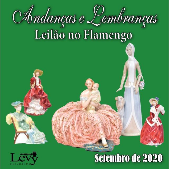 ANDANÇAS E LEMBRANÇAS - LEILÃO DE ARTE E ANTIGUIDADES -