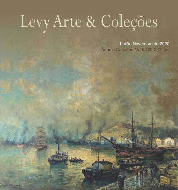 LEILÃO LEVY ARTE & COLEÇÕES - NOVEMBRO 2020
