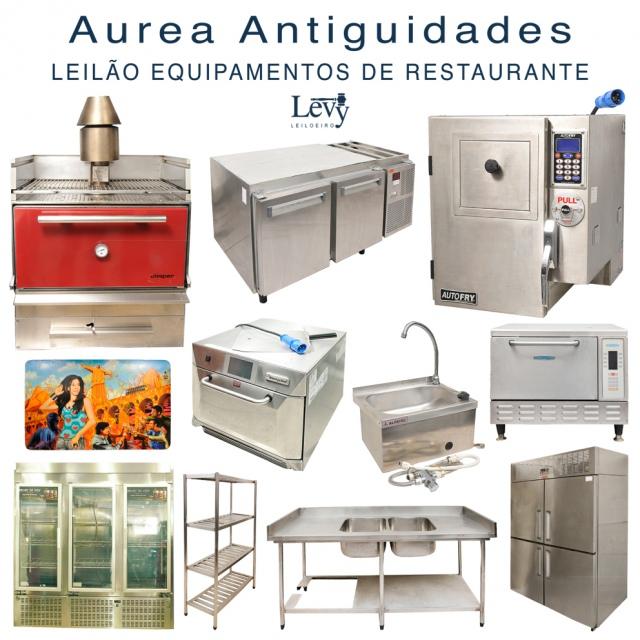 AUREA ANTIGUIDADES -  LEILÃO DE EQUIPAMENTOS DE RESTAURANTE