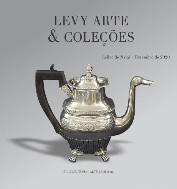 LEILÃO LEVY ARTE & COLEÇÕES - DEZEMBRO 2020