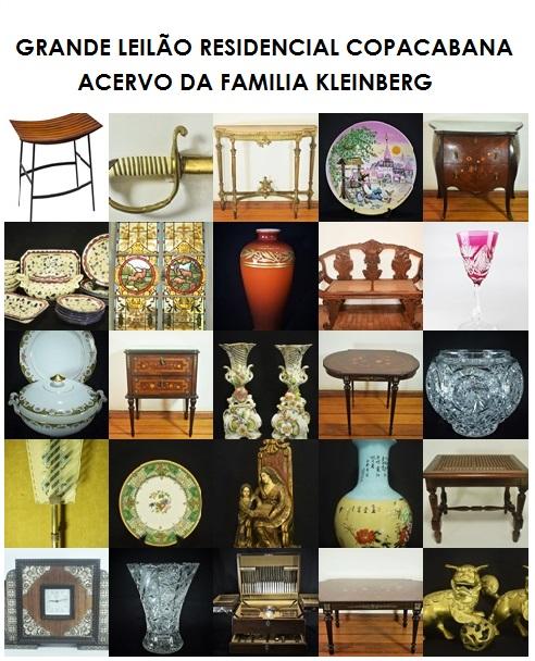 GRANDE LEILÃO RESIDENCIAL COPACABANA - ACERVO DA FAMILIA KLEINBERG - TEL.: 21 31971076