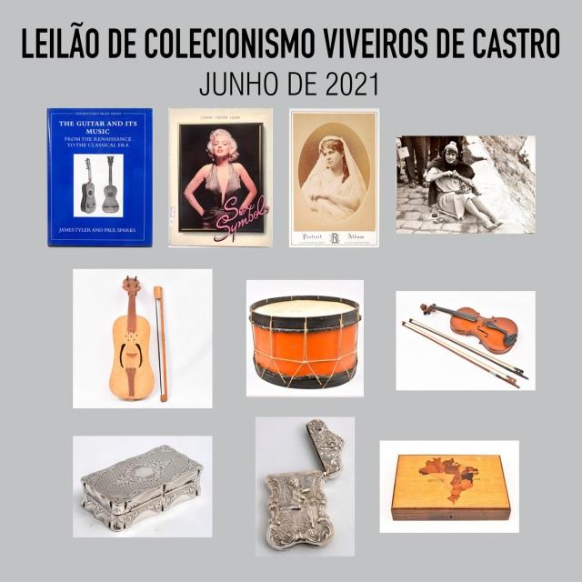 LEILÃO DE COLECIONISMO VIVEIROS DE CASTRO - JUNHO DE 2021