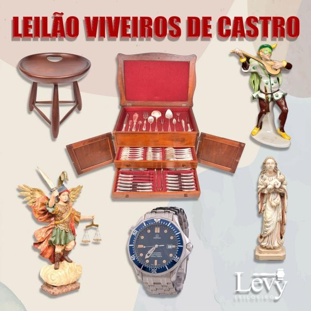 LEILÃO VIVEIROS DE CASTRO - AGOSTO 2021