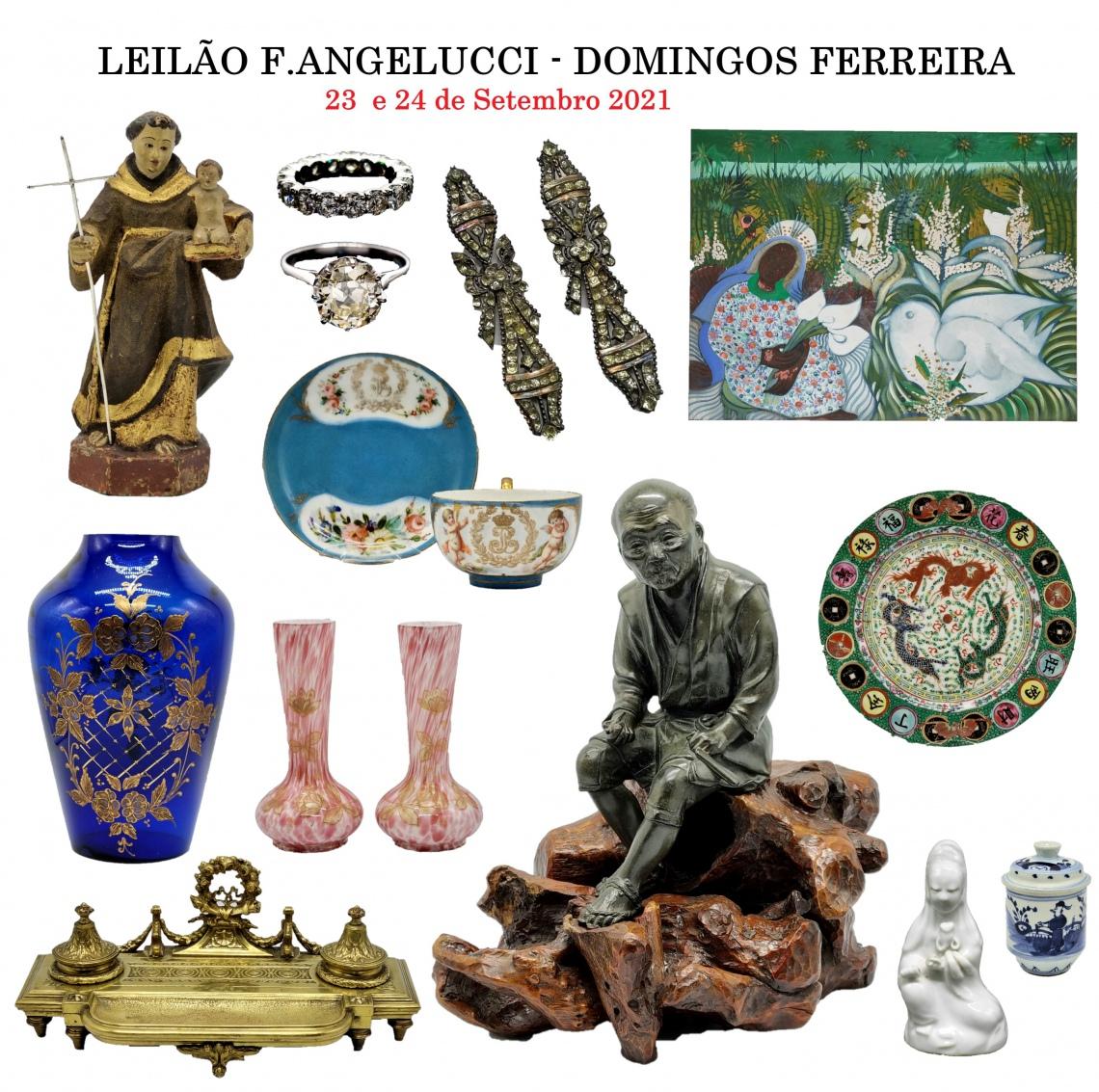 LEILÃO F. ANGELUCCI - DOMINGOS FERREIRA