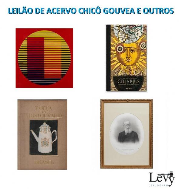 Leilão 3450 - LEILÃO DE ACERVO DE LIVROS DO ARQUITETO CHICÔ GOUVEA QUE ADORA O BRASIL & OUTROS