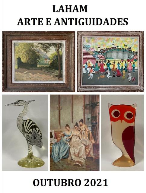 Laham Arte e Antiguidades - Outubro 2021