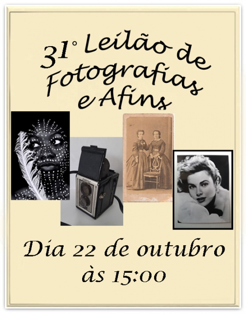 31º LEILÃO DE FOTOGRAFIAS, CINEMA E AFINS