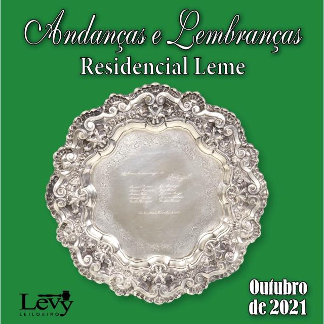 ANDANÇAS E LEMBRANÇAS - LEILÃO RESIDENCIAL LEME