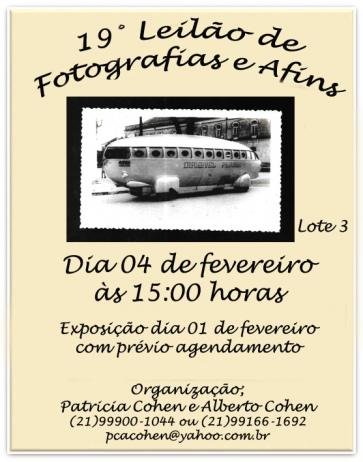 19 LEILÃO DE FOTOGRAFIAS